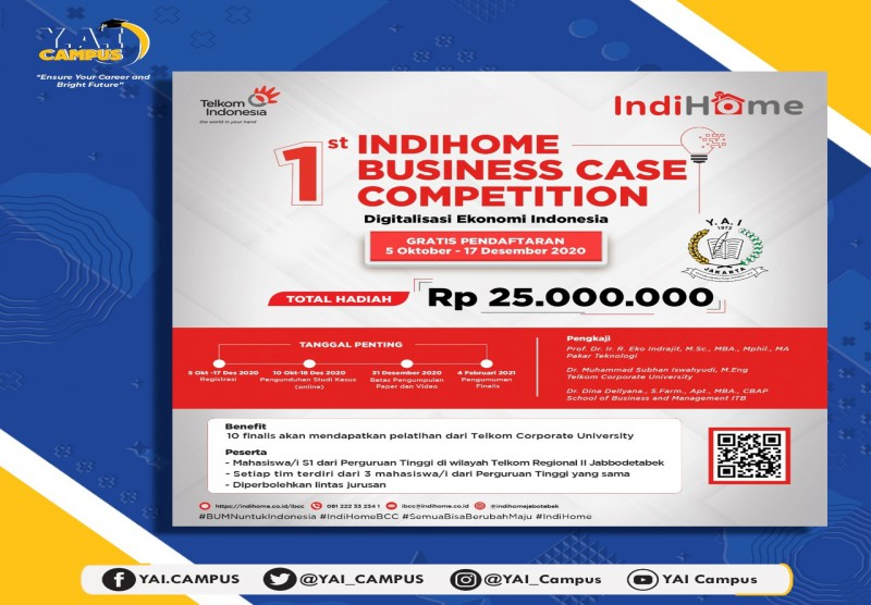1st IndiHome Business Case Competition