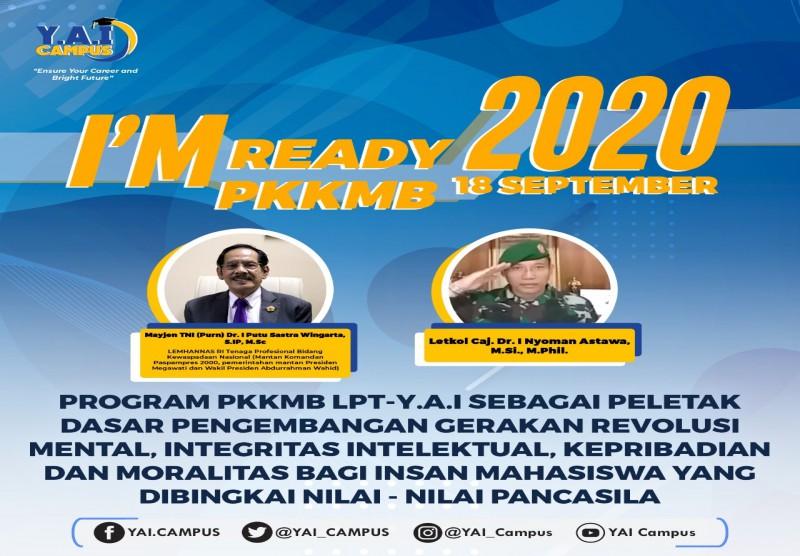 I'm Ready PKKMB 2020