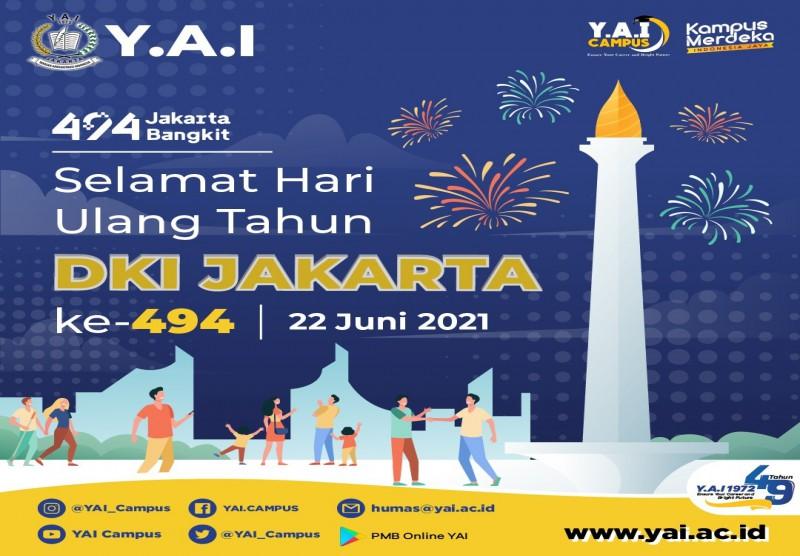 Selamat Hari Ulang Tahun Kota Jakarta