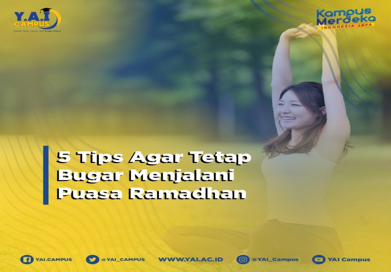 5 Tips Agar Tetap Bugar Menjalani Puasa Ramadhan