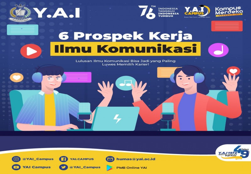 6 Prospek Kerja Ilmu Komunikasi