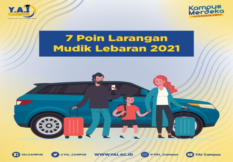 7 Poin Larangan Mudik Lebaran 2021