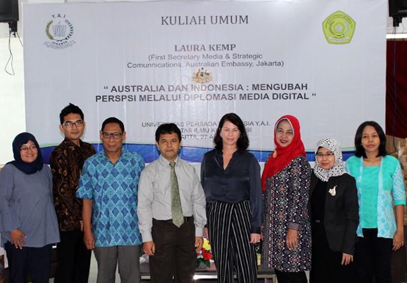 Australia dan Indonesia : Mengubah Presepsi Melalui Diplomasi Media dan Digital