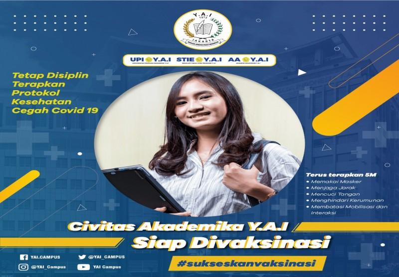 Civitas Akademika Y.A.I Siap Divaksinasi