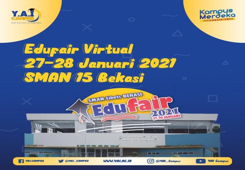 Edufair Virtual 27-28 Januari 2021 SMAN 15 Bekasi