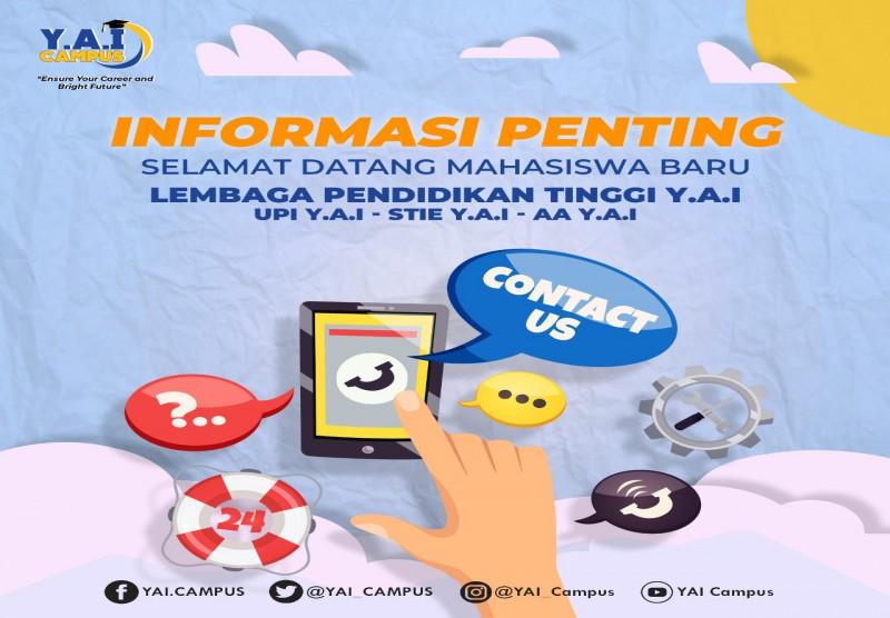 Informasi Penting Untuk Mahasiswa Baru