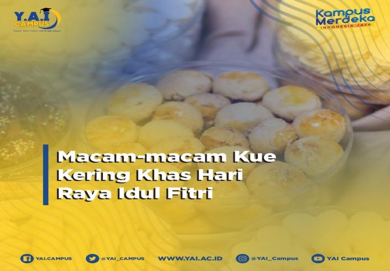 Macam-Macam Kue Kering Khas Hari Raya Idul Fitri
