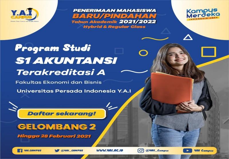Program Studi S1 Akuntansi Terakreditasi A