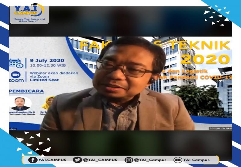 "Seminar Online Fakultas Teknik UPI Y.A.I ""Transportasi Publik dan Logistik di Masa dan Setelah Pandemi COVID-19"""