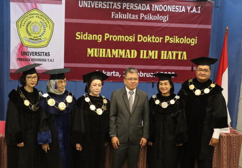 Sidang Terbuka Promosi Doktor Psikologi