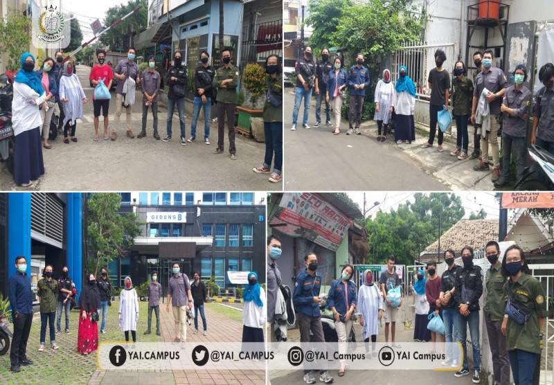 Solidaritas Fakultas Teknik Universitas Persada Indonesia Y.A.I untuk Mahasiswa yang Kesulitan Saat Pandemi Covid-19