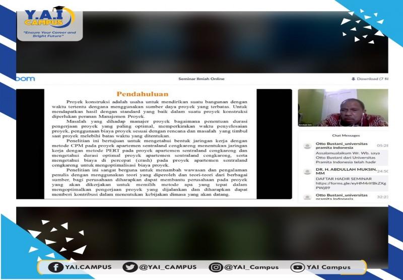 Webinar : Seminar Ilmiah Online