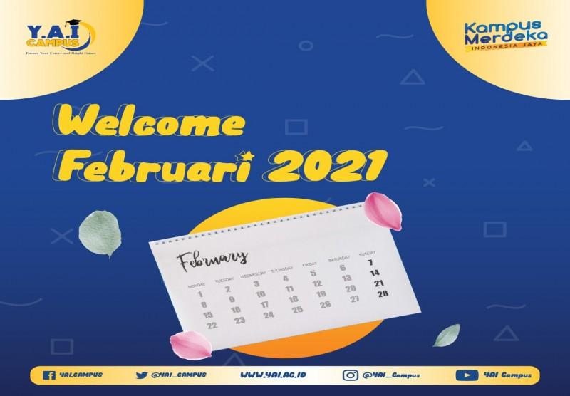 Welcome February 2021